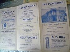 East Anglia's Theatre- Lionel Bute's FRENCH LEAVE- Donald Vharles,Negel Coles