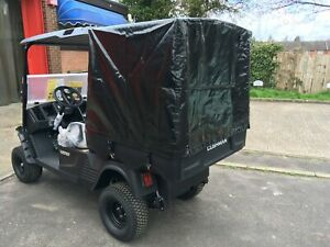 GOLF BUGGY CARGO COVER FOR 1200 HAULER. COVER AND FRAME ONLY