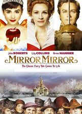 MIRROR MIRROR 2 DISC ENCHANTED ED JULIA ROBERTS LILY COLLINS UK REGN 2 DVD L NEW