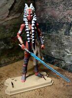 "Star Wars SHAAK TI Felucian Outcast Pro Custom OOAK 3.75"" Clone Wars CW31 & BD61"