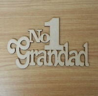 Wooden Mdf Super Dad Symbo Plaque sign Fathers day craft blank gift S31