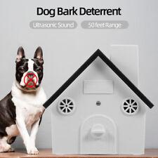 Pet Dog Safe Outdoor Bark Control Ultrasonic Sound Anti Barking Device G1K3