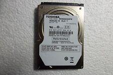 "Toshiba 2.5"" Notebook SATA Hard Drive 500GB FW: 010A0/GT001A HDD2J53 MK5059GSXPW"