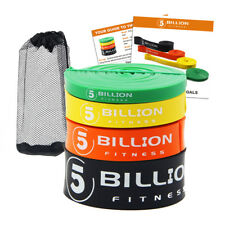 5 Billion Pull Up Assist Bands Resistance Bands for Body Stretching Powerlifting