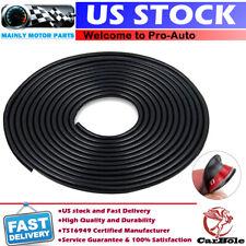 32ft Black Car Door Edge Guard Trim Molding Protector Strip Rubber Seal U Shape