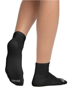12 Pairs Women's Cool Comfort® Ankle Socks Extended Sizes 8-12