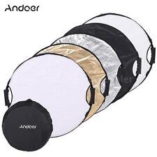 Andoer 110cm Multi-Disc Portable Circular Studio Video Light Reflector US Z6A1