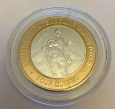 "Four Queens Las Vegas ""Summer"" $10 Limited Edition Gaming Token #107"