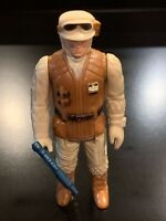 Vintage Rebel Soldier (Hoth) Star Wars Action Figure 1980 Hong Kong - COMPLETE