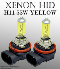 H11 55W 1 pair Fog Light Xenon HID Golden Yellow Light Bulbs Te4T3644