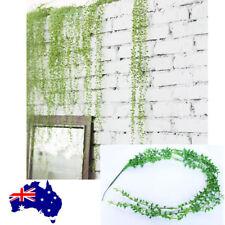 Artificial Fake string of pearls Ivy Vine Leaf Hanging Garland Plants Home Decor