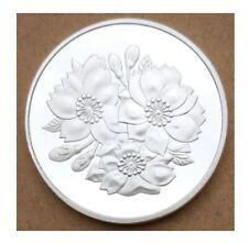 Japan Tokyo Silver Plated Coin 1oz new airtite case sakura flower cherry blossom