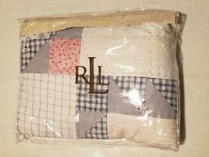 NWT Ralph Lauren Maybrook Quilt Multi Standard Pillow Sham NEW