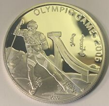 Mongolia 2006 500 Terper, 2006 Olympic Games, 25g .925 silver coin
