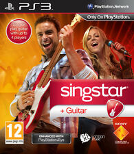 Singstar Guitar PS3 Playstation 3 IT IMPORT SONY COMPUTER ENTERTAINMENT