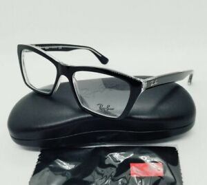 RAY BAN black RB5316 2034 53-16 optical EYEGLASSES frames! NEW IN CASE!