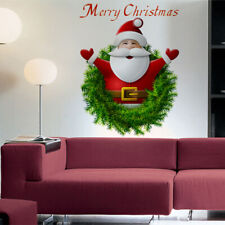 Merry Christmas Vinyl Art Store Window Home Wall Stickers Decal Decor Removable