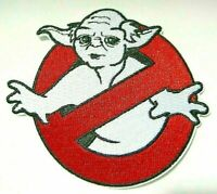 """Star Wars Yoda """"Ghostbusters Parody"""" Embroidered Patch -new"""