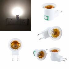Lamp ON/OFF Bulb Base Holder EU Plug Adapter Converter E27 Light Socket