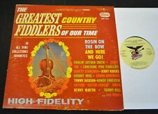 Arthur Smith Curly Fox Scotty Stoneman Jerry Rivers Starday 294 Country Fiddlers