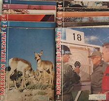 The American Rifleman All 12 Magazines from 1957 Volume 105 NRA Collectible Guns