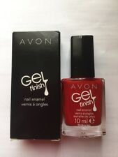 AVON ~ Nail Enamel ~ Gel Finish ~ NEW Shades! ~ Roses Are Red ���