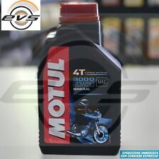 1 Litro Olio Motore Moto MOTUL 3000 20W50 Minerale API SL/SG/SH/SJ  MA2 Harley D