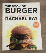 The Book of Burger by Rachael Ray (English) Paperback Book Free Shipping!