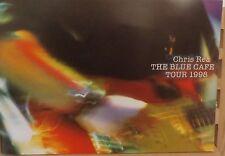 CHRIS REA THE BLUE CAFE 1998 TOUR PROGRAMME + TICKETS
