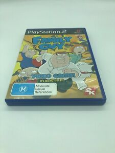 PS2 GAME FAMILY GUY VIDEO GAME