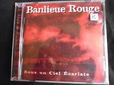 Banlieue Rouge - Sous un Ciel Ecarlate - CD - Neuf