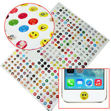 330 Pcs Lovely Cartoon Home Button Stickers Protector for Apple iPhone 4 4S 5 5S