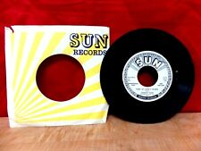 """Sun Promo 45 """" Johnny Cash - Mean Eyed Cat / Port Of Lonely Hearts (VG+)"""
