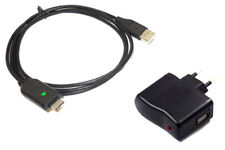 2in1 Kit USB Caricabatteria/Sync per Samsung ST30, T45, ST50, ST60, ST61, ST65