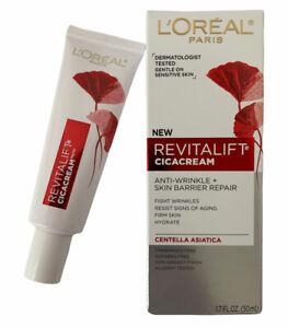 L'Oreal Paris Revitalift Cicacream Anti-Aging Face Moisturizer 1.7 Fl Oz NEW
