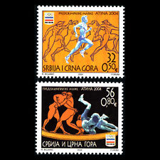 Serbia 2004 - Olympic Games - Athens, Greece - Sc 233/4 MNH