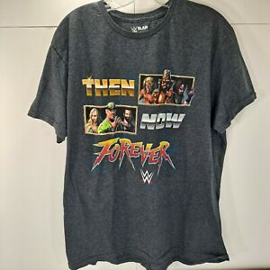 WWE Then Now Forever SLAM Crate Exclusive Wrestling T Shirt XL Loot Crate Cena
