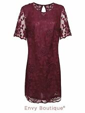 Lace Party Short Sleeve Floral Dresses for Women