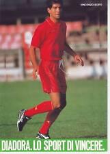 FOOTBALL carte joueur VINCENZO SCIFO équipe BELGIQUE  ** format 21/15 cm