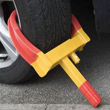 SERIOUSLY HEAVY DUTY 3 KEY CLAW CARAVAN CAR TRAILER SECURITY WHEEL CLAMP