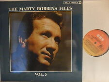 Marty Robbins-Marty Robbins Files vol.2 - LP 1984 D-Bear Family bfx 15139
