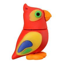 16GB 16G Mini Cute Parrot Model USB Flash Drive Memory Stick Pen Storage U Disk