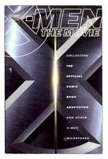 X-Men The Movie 2000 Graphic Novel TPB Comic Book Reprints X Logo Cover Variant