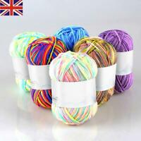 NEW Soft Middle-Thick Crochet DIY Hand Milk Baby Cotton Knitting Wool Yarn Yarn