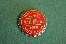 Vintage Wausau Brewing Company Adel Brau Beer Bottle Cap Very Nice Ships Free!