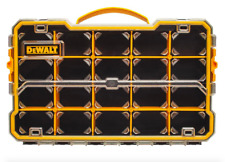 Dewalt Portable Small Parts Organizer Compartment Bins Tool Box Storage Plastic