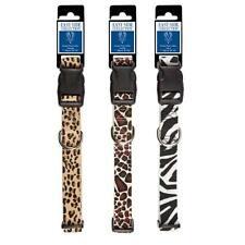 Animal Print Collar de Perro 3 Safari Patrones para - 4 Tamaños Disponibles