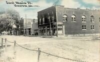 Dirt - East Main Street BOWEN ILLINOIS -  Antique POSTCARD