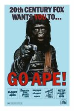 "Go Ape Poster #01 24""x36"" Planet of the Apes Films"