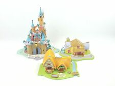 DISNEY POLLY POCKET BLUEBIRD ENCHANTED CASTLE Minnie Surprise Party Snow White